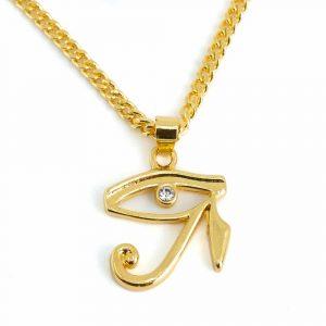 Amulett Goldenes Auge des Horus (20 mm)