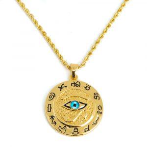 Amulett Goldenes Auge des Horus (40 mm)