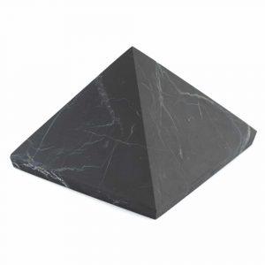 Pyramide ungeschliffener Schungit - 60 mm