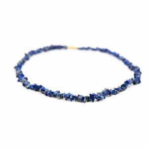 Edelstein Splitterkette Lapis Lazuli (45 cm)
