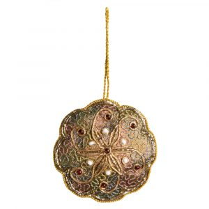Anhänger Ornament Traditionelle Blume (18 cm)