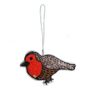 Anhänger Ornament Traditioneller Vogel (13 cm)