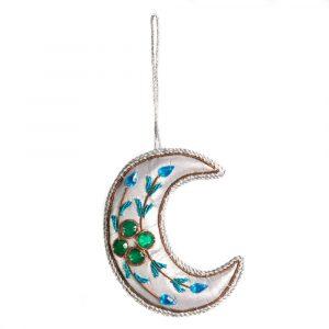 Anhänger Ornament Traditioneller zunehmender Mond (19 cm)