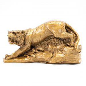 Figur Feng Shui Chinesisches Tierkreiszeichen Tiger (100 mm)