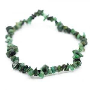 Edelstein-Splitter-Armband Smaragd