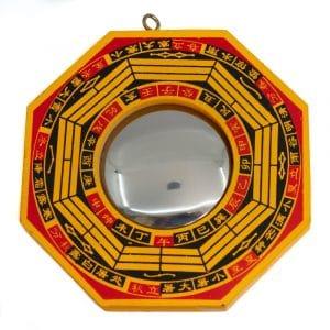 Feng Shui Bagua Spiegel Kugel (10 cm)