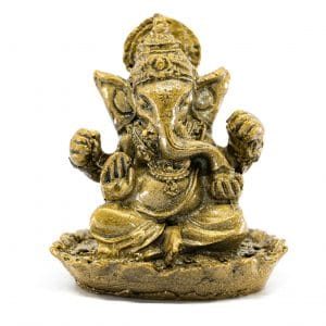 Ganesha Statue Goldfarben (6 cm)