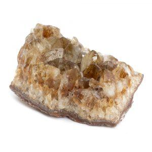 Roher Citrin Edelstein Cluster 6 - 8 cm