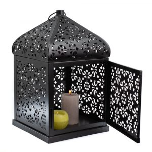 Orientalische Laterne Kerzenlicht (30 cm)
