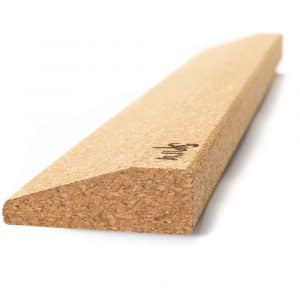 Spiru Yoga Block Eco Kork Keilform Lang - 60 x 9 x 3 cm