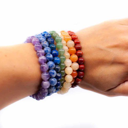 Edelsteine nach Farben: Verwende das gesamte Spektrum der Steine