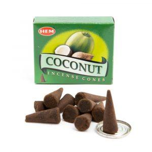 HEM Räucherkegel Kokosnuss (1 Schachtel)