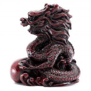 Statue Feng Shui Chinesisches Tierkreiszeichen Drache (80 mm)