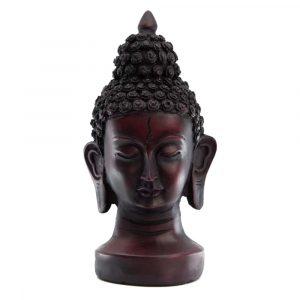 Thailändische Buddha-Kopf-Statue (15 cm)